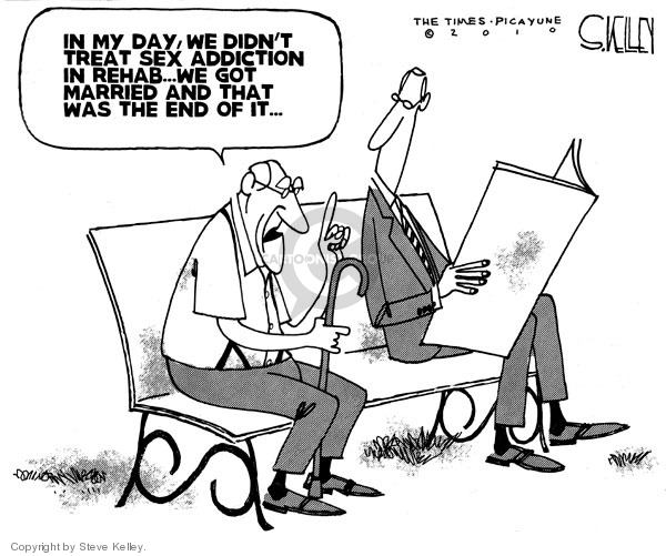 Cartoonist Steve Kelley  Steve Kelley's Editorial Cartoons 2010-04-02 generational