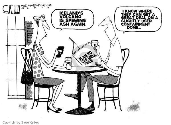 Steve Kelley  Steve Kelley's Editorial Cartoons 2010-05-11 oil drilling