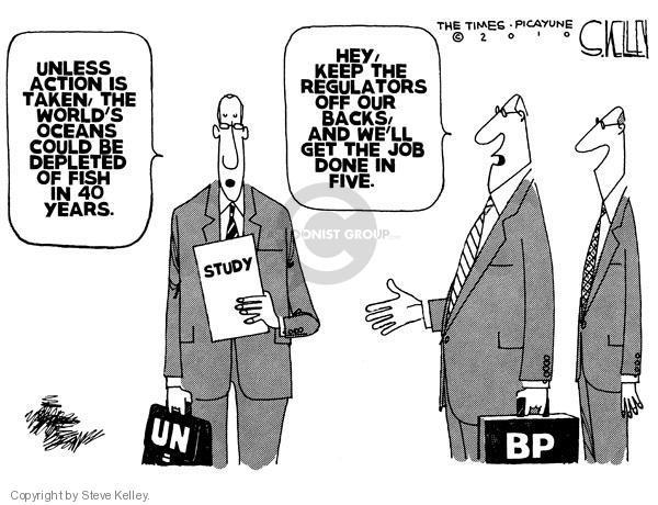 Steve Kelley  Steve Kelley's Editorial Cartoons 2010-05-20 environment