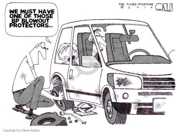 Cartoonist Steve Kelley  Steve Kelley's Editorial Cartoons 2010-05-21 automobile energy
