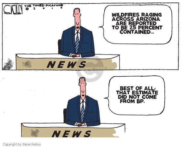Cartoonist Steve Kelley  Steve Kelley's Editorial Cartoons 2010-06-25 spill