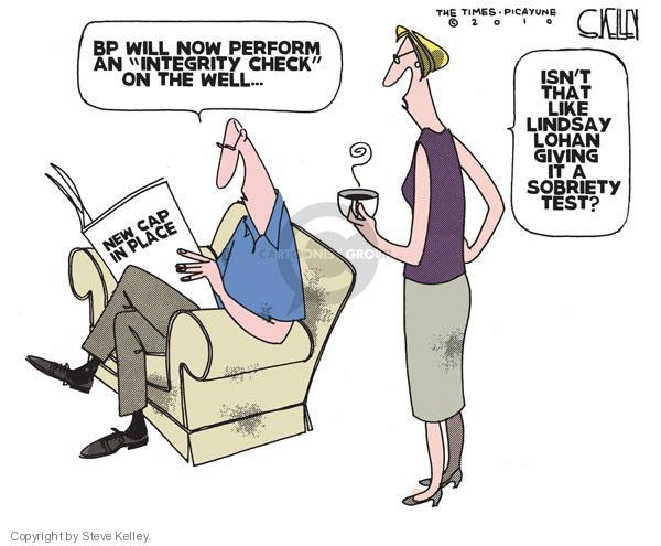Steve Kelley  Steve Kelley's Editorial Cartoons 2010-07-14 well