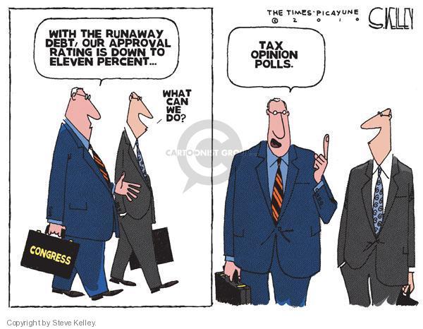 Steve Kelley  Steve Kelley's Editorial Cartoons 2010-07-25 federal budget