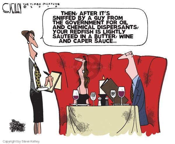 Cartoonist Steve Kelley  Steve Kelley's Editorial Cartoons 2010-08-03 guy