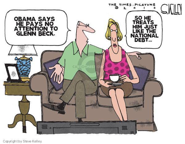 Steve Kelley  Steve Kelley's Editorial Cartoons 2010-09-01 criticism