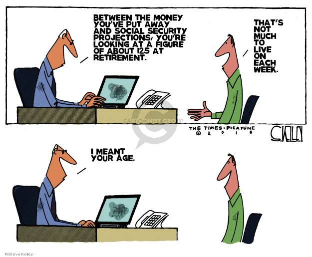 Cartoonist Steve Kelley  Steve Kelley's Editorial Cartoons 2010-09-16 age