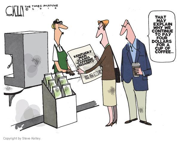 Steve Kelley  Steve Kelley's Editorial Cartoons 2010-09-21 cost