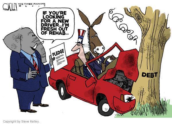 Cartoonist Steve Kelley  Steve Kelley's Editorial Cartoons 2010-09-26 car