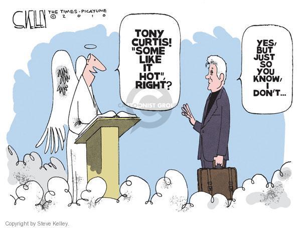 Cartoonist Steve Kelley  Steve Kelley's Editorial Cartoons 2010-10-03 heat