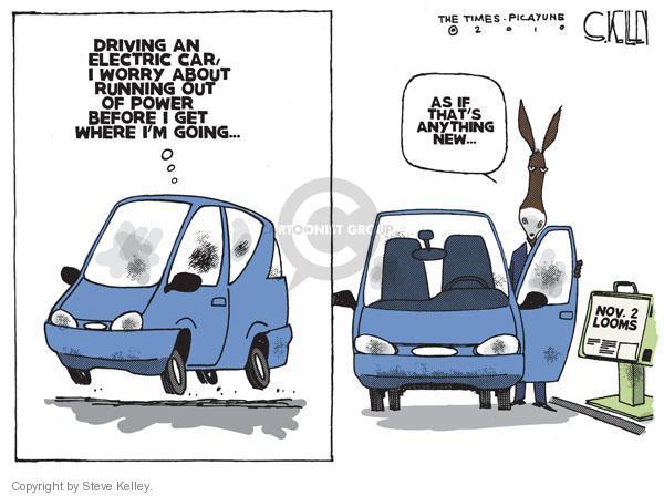 Cartoonist Steve Kelley  Steve Kelley's Editorial Cartoons 2010-10-22 automobile energy