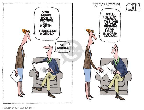 Steve Kelley  Steve Kelley's Editorial Cartoons 2010-11-07 $120