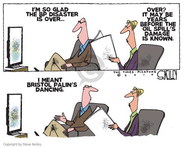 Cartoonist Steve Kelley  Steve Kelley's Editorial Cartoons 2010-11-25 spill