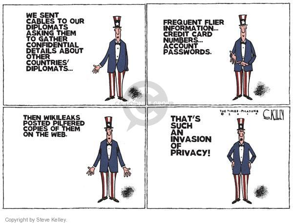 Steve Kelley  Steve Kelley's Editorial Cartoons 2010-12-01 number