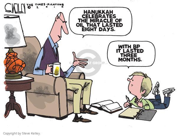 Cartoonist Steve Kelley  Steve Kelley's Editorial Cartoons 2010-12-03 spill
