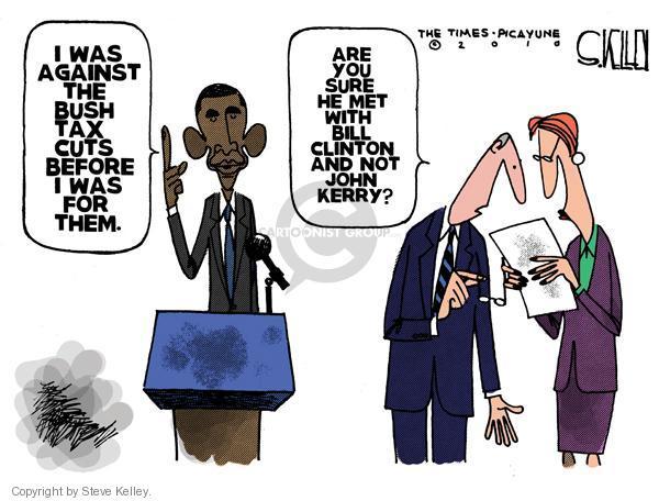 Cartoonist Steve Kelley  Steve Kelley's Editorial Cartoons 2010-12-14 flip