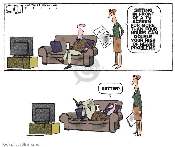 Steve Kelley  Steve Kelley's Editorial Cartoons 2011-01-13 hour