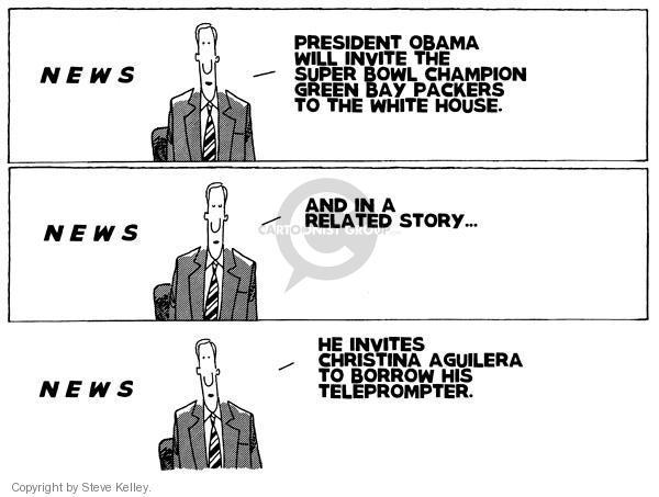 Cartoonist Steve Kelley  Steve Kelley's Editorial Cartoons 2011-02-08 singer