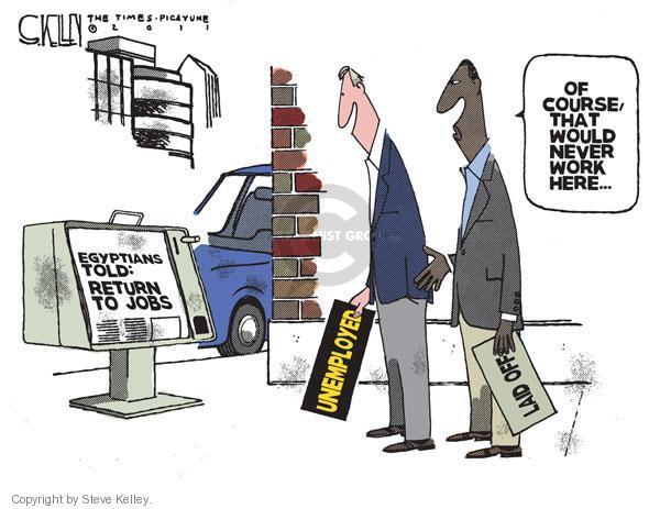 Steve Kelley  Steve Kelley's Editorial Cartoons 2011-02-15 would