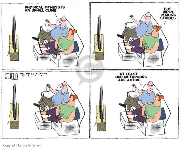 Cartoonist Steve Kelley  Steve Kelley's Editorial Cartoons 2011-02-22 television