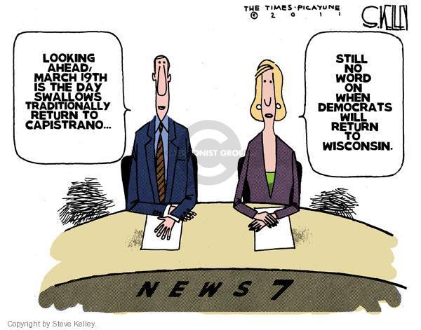 Cartoonist Steve Kelley  Steve Kelley's Editorial Cartoons 2011-03-09 states rights