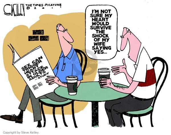 Cartoonist Steve Kelley  Steve Kelley's Editorial Cartoons 2011-03-27 cardiac
