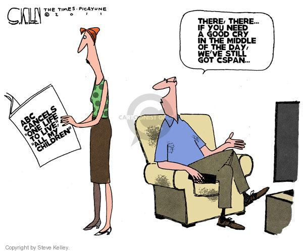 Cartoonist Steve Kelley  Steve Kelley's Editorial Cartoons 2011-04-17 middle