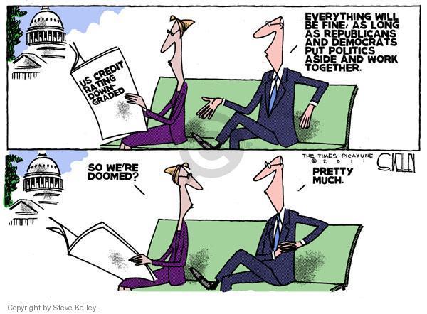 Steve Kelley  Steve Kelley's Editorial Cartoons 2011-04-20 federal budget