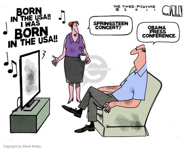 Cartoonist Steve Kelley  Steve Kelley's Editorial Cartoons 2011-04-29 president