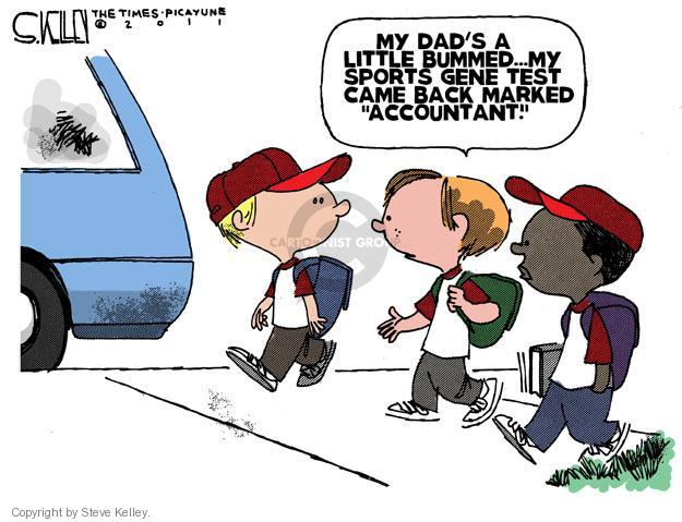 Cartoonist Steve Kelley  Steve Kelley's Editorial Cartoons 2011-05-20 father
