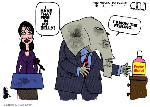 Steve Kelley  Steve Kelley's Editorial Cartoons 2011-05-22 GOP
