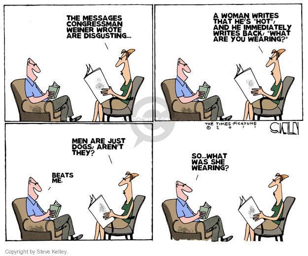 Steve Kelley  Steve Kelley's Editorial Cartoons 2011-06-12 hot
