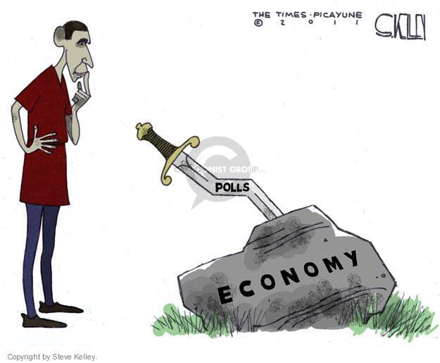 Cartoonist Steve Kelley  Steve Kelley's Editorial Cartoons 2011-06-23 election