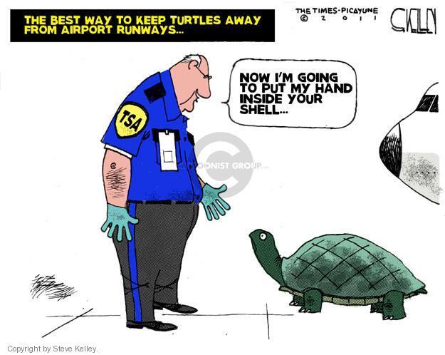 Cartoonist Steve Kelley  Steve Kelley's Editorial Cartoons 2011-07-01 hand