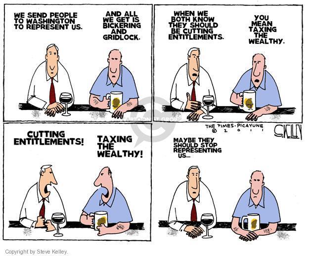 Steve Kelley  Steve Kelley's Editorial Cartoons 2011-07-13 voter
