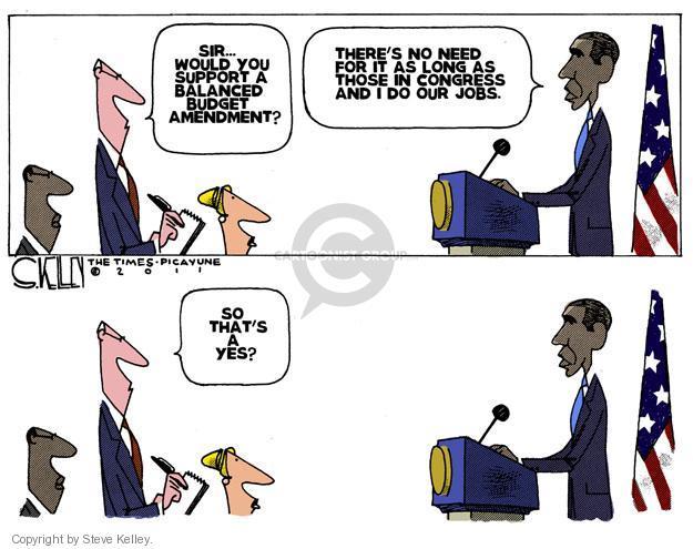 Steve Kelley  Steve Kelley's Editorial Cartoons 2011-07-19 GOP