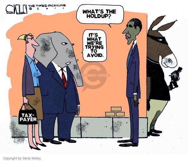 Steve Kelley  Steve Kelley's Editorial Cartoons 2011-07-22 GOP