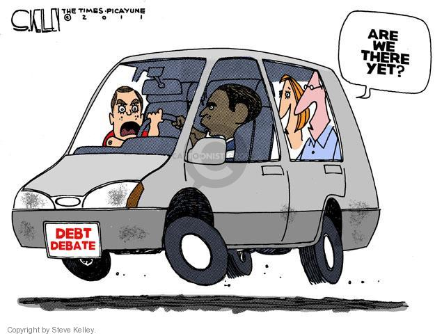 Cartoonist Steve Kelley  Steve Kelley's Editorial Cartoons 2011-07-27 president
