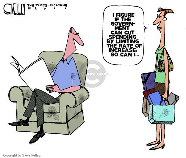 Steve Kelley  Steve Kelley's Editorial Cartoons 2011-08-03 federal budget
