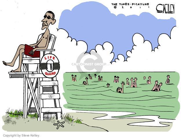 Steve Kelley  Steve Kelley's Editorial Cartoons 2011-08-21 vacation