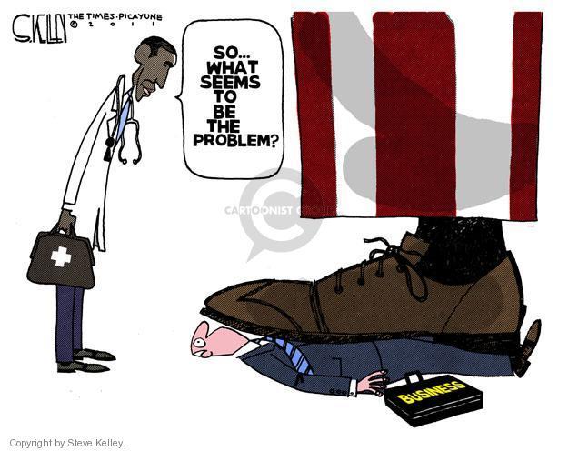Cartoonist Steve Kelley  Steve Kelley's Editorial Cartoons 2011-09-09 regulation