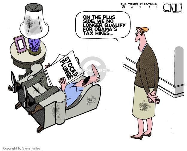 Steve Kelley  Steve Kelley's Editorial Cartoons 2011-09-23 stock market