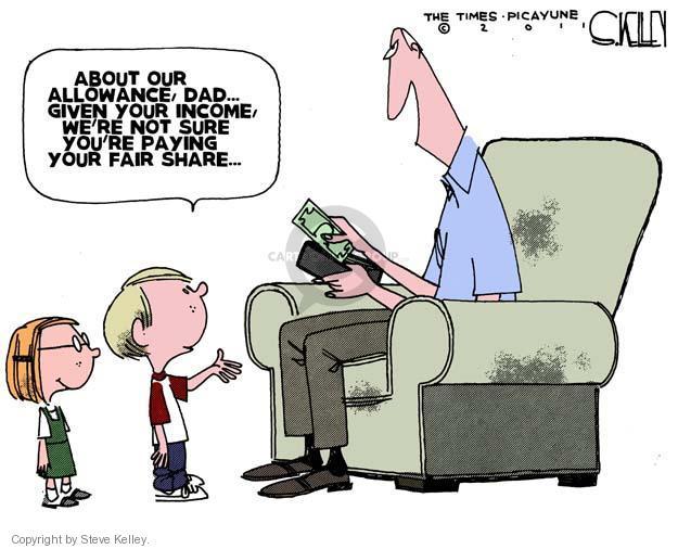 Steve Kelley  Steve Kelley's Editorial Cartoons 2011-09-25 parenting