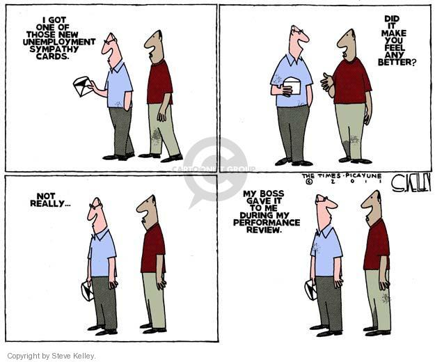 Cartoonist Steve Kelley  Steve Kelley's Editorial Cartoons 2011-09-29 unemployment