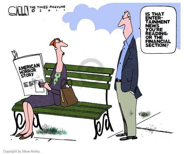 Cartoonist Steve Kelley  Steve Kelley's Editorial Cartoons 2011-10-05 entertainment