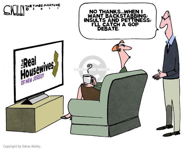 Steve Kelley  Steve Kelley's Editorial Cartoons 2011-10-20 GOP