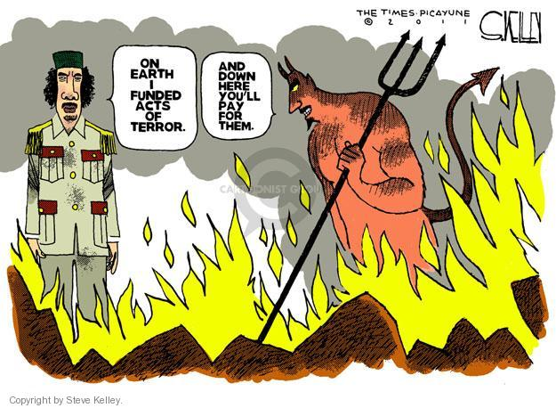 Steve Kelley  Steve Kelley's Editorial Cartoons 2011-10-21 terror