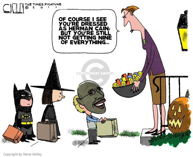 Cartoonist Steve Kelley  Steve Kelley's Editorial Cartoons 2011-10-23 election