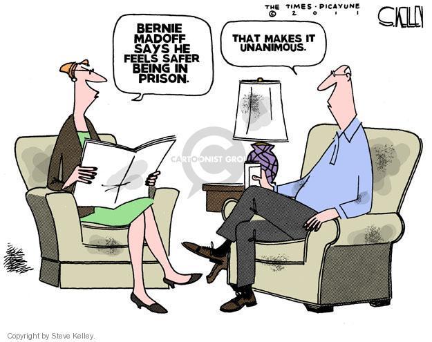 Steve Kelley  Steve Kelley's Editorial Cartoons 2011-10-28 prisoner