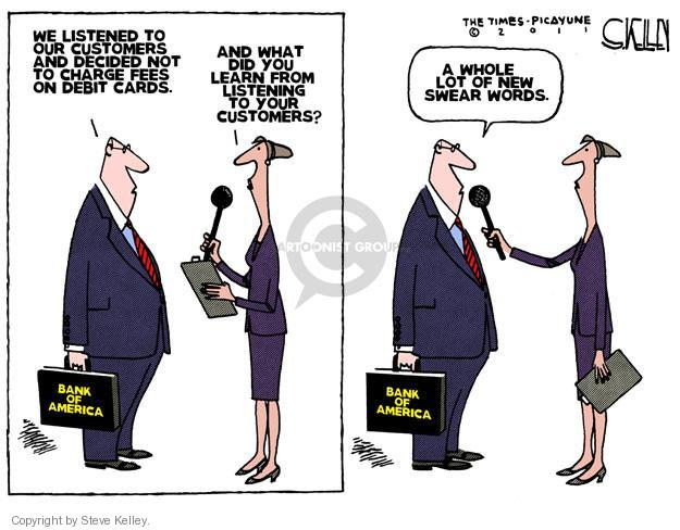 Steve Kelley  Steve Kelley's Editorial Cartoons 2011-11-03 banker