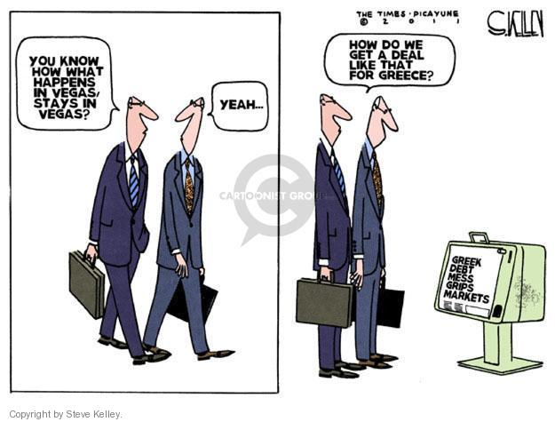 Steve Kelley  Steve Kelley's Editorial Cartoons 2011-11-04 happen